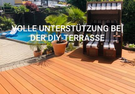 Referenz: DIY-Terrasse | HolzLand Bunzel in Marl und Hamm