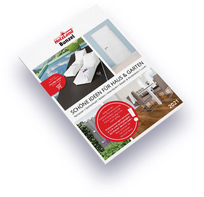 HolzLand Bunzel Haus und Garten Katalog