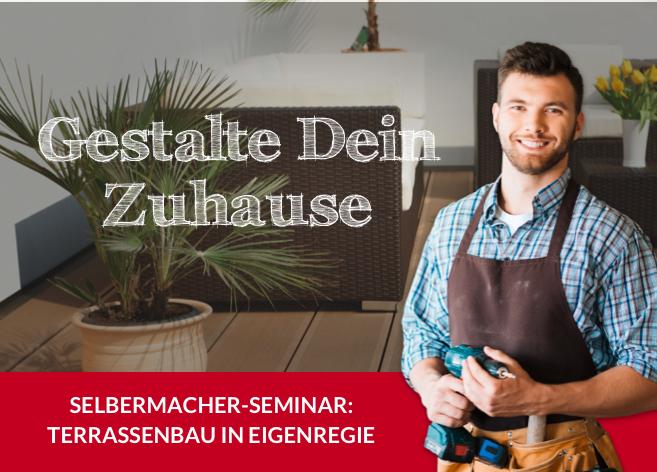 DIY-Seminar: Terrasse verlegen | HolzLand Bunzel