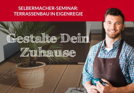 DIY-Terrassenseminar am 18.09.21 | HolzLand Bunzel